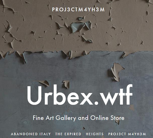 Visit the store www.urbex.wtf