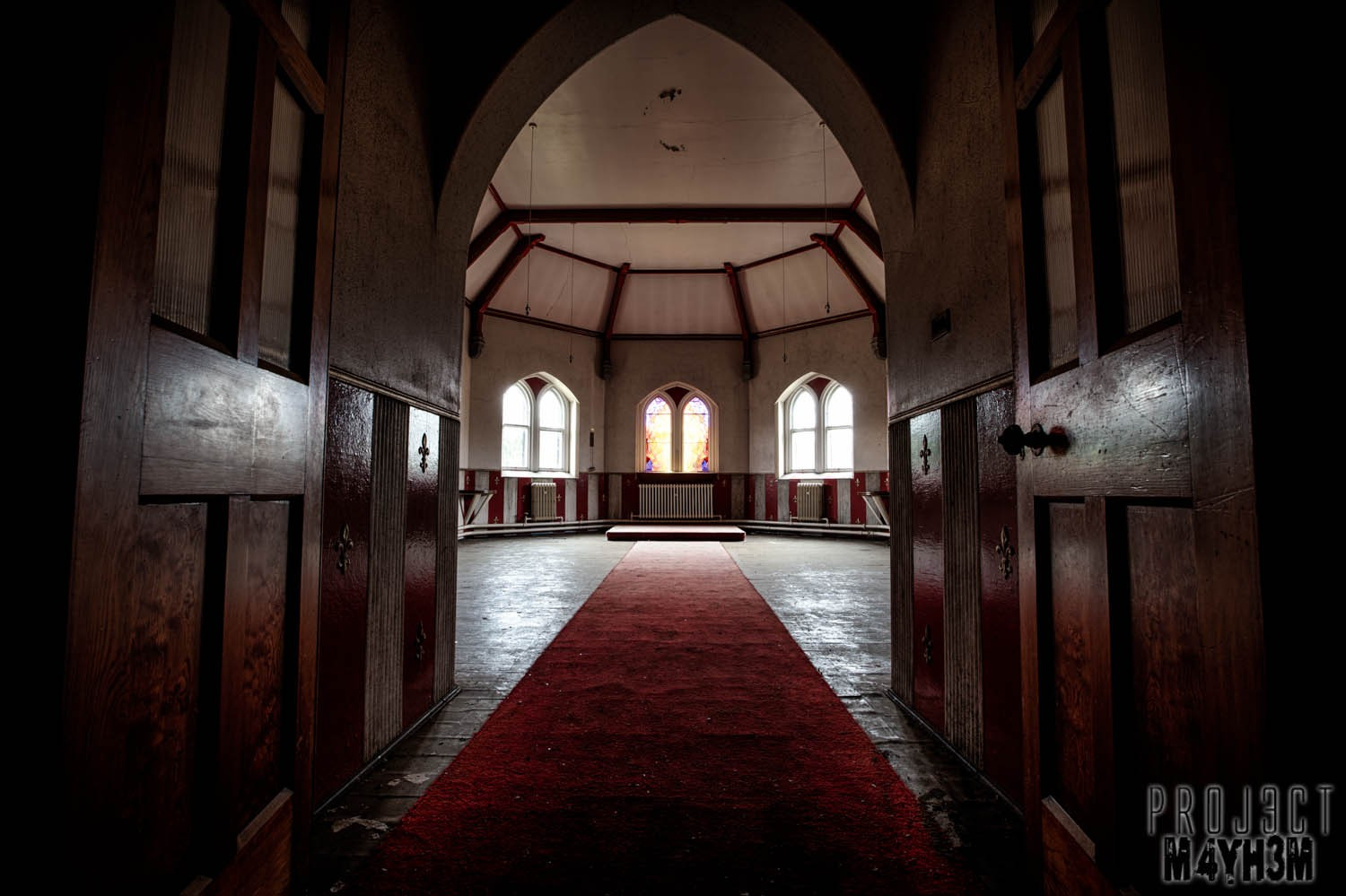 St Josephs Seminary Upholland - The Red Chapel