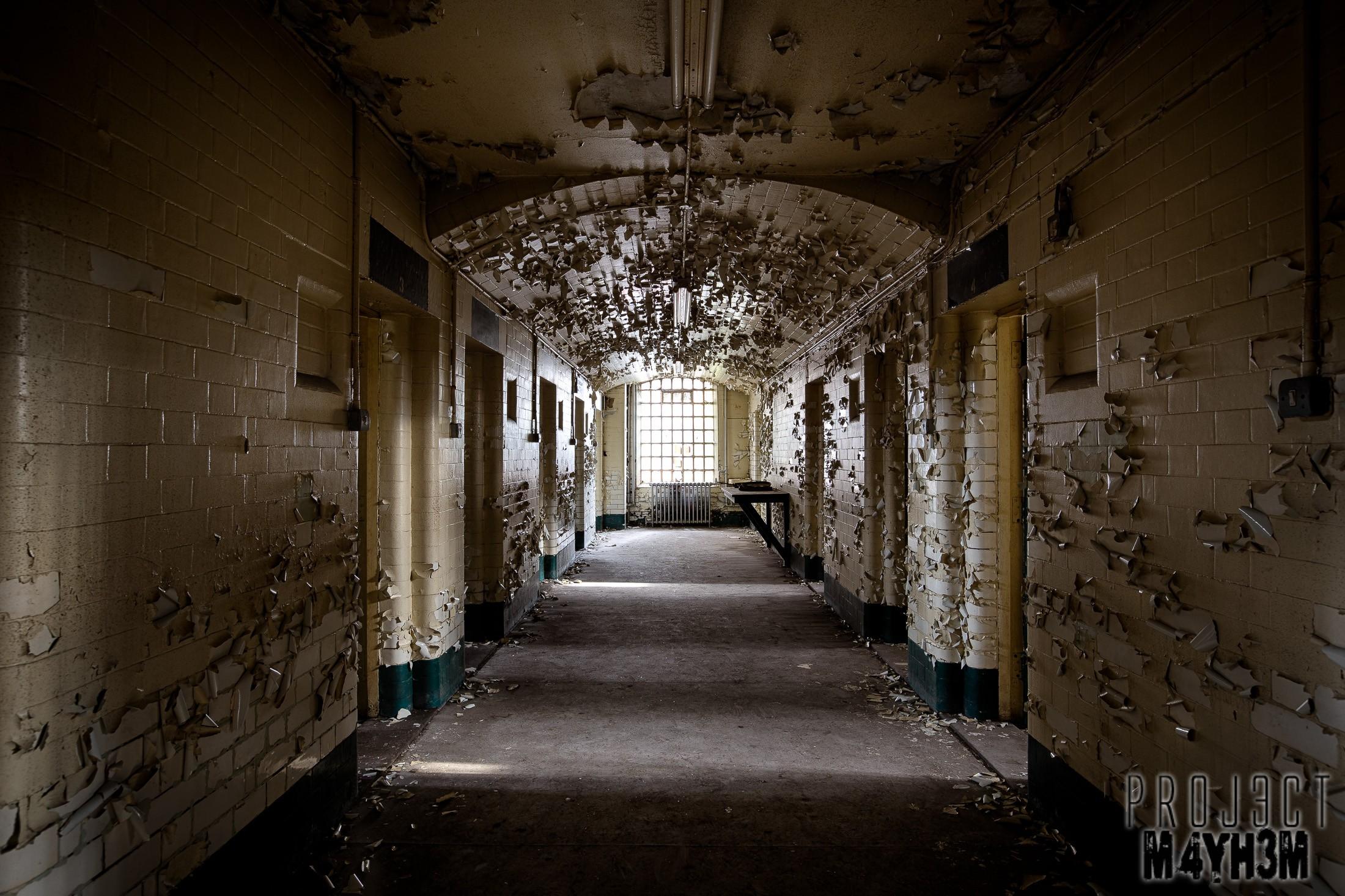 Sheffield Crown Court - The Prison Cells