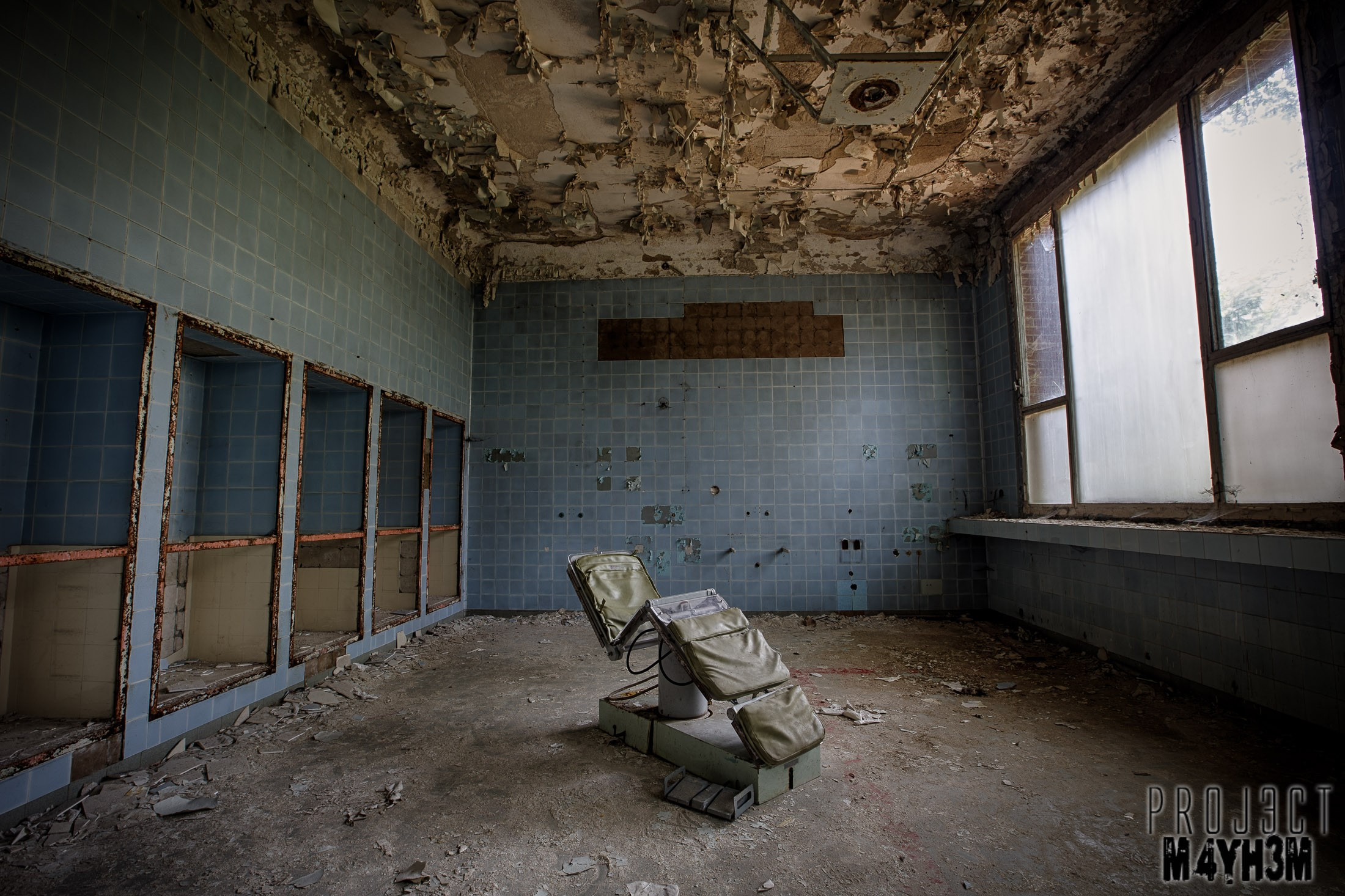Decaying Soviet Hospitals