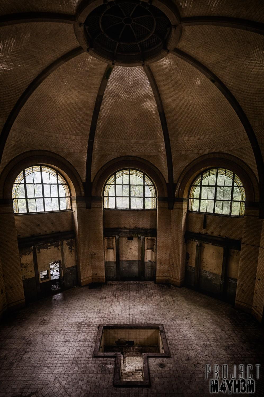 Beelitz-Heilstätten aka Beelitz Hospital Bath House