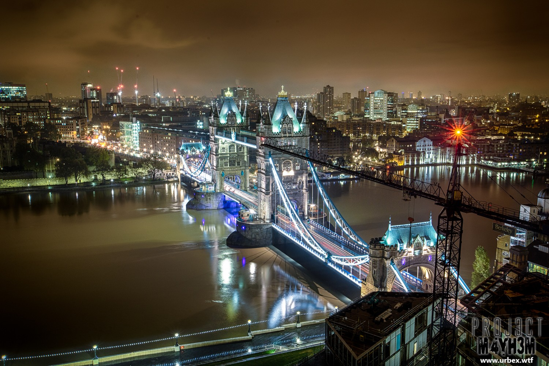 London Rooftops Tower Bridge
