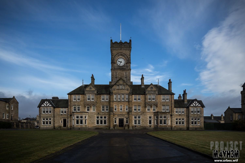 High Royds Insane Asylum - Adminstration Building Exterior