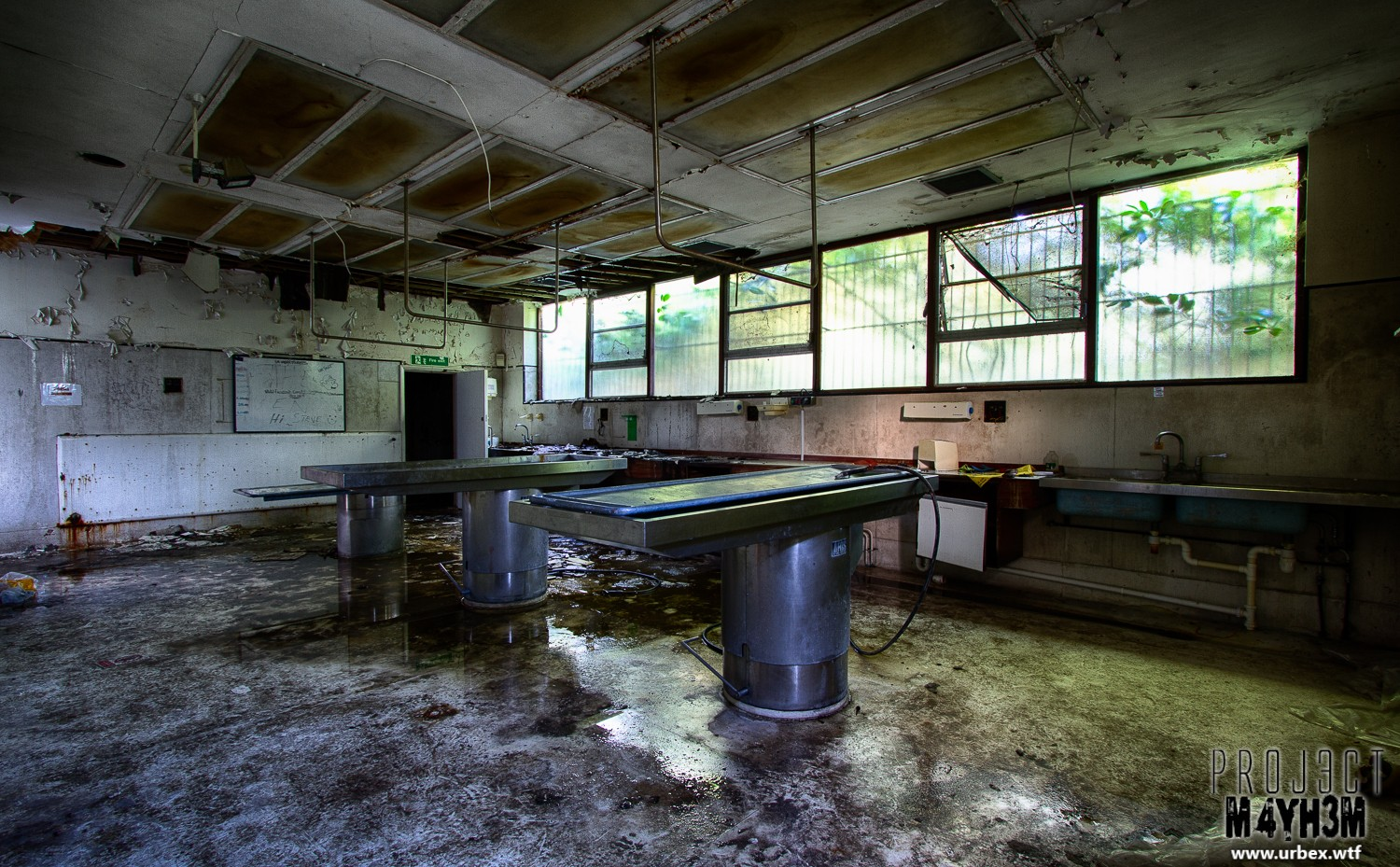 Morgue P Cutting Tables