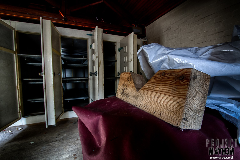 Rossendale Hospital Morgue