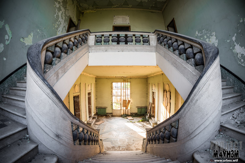 St. Joseph Orphanage - Staircase