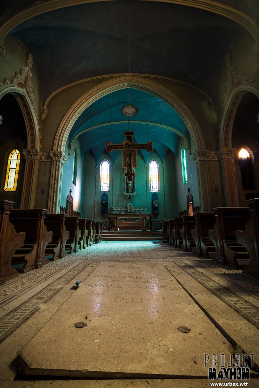 Blue Chapel Monastery - The Main Chapel