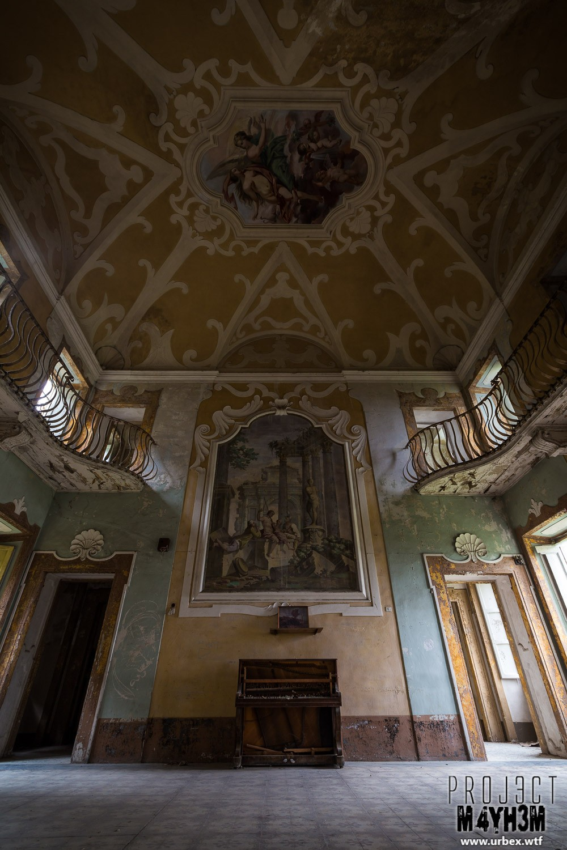 Villa Sbertolli - Main Hall
