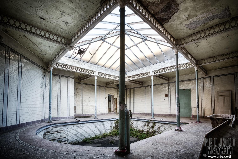 Buxton Natural Mineral Water Baths