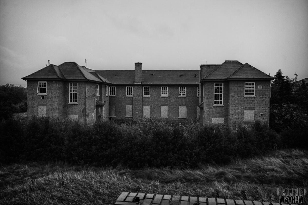 Proj3ctm4yh3m Urban Exploration Aston Hall Mental