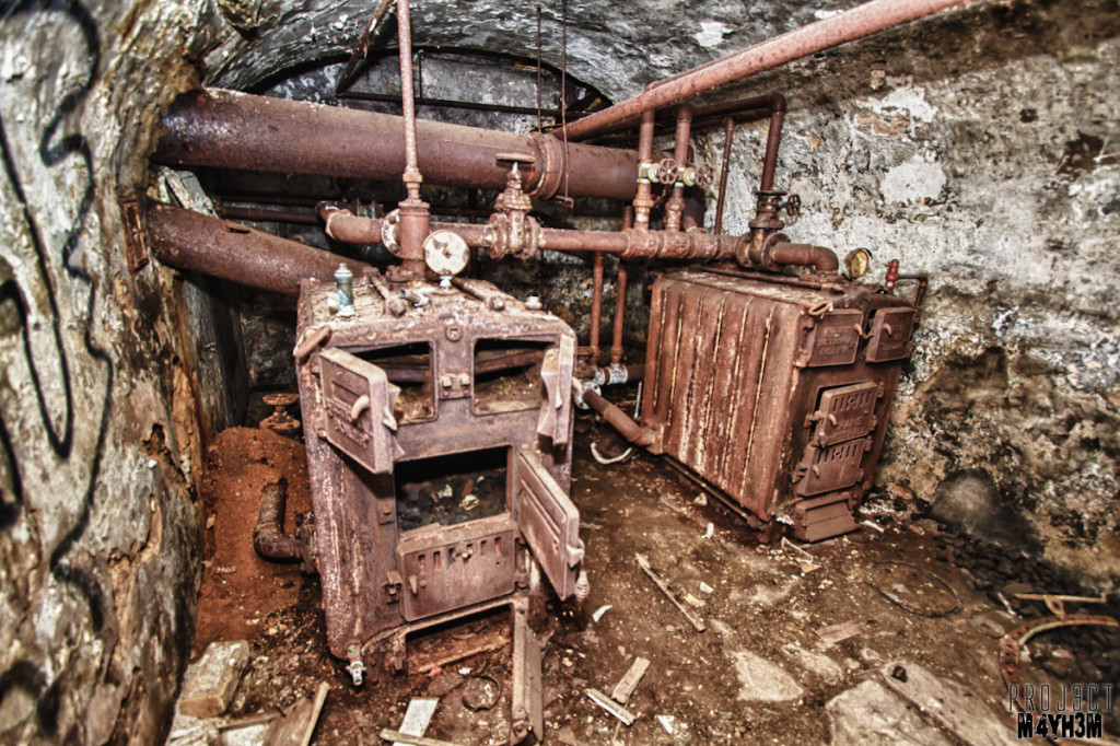 Bramham House - Basement Boiler Room