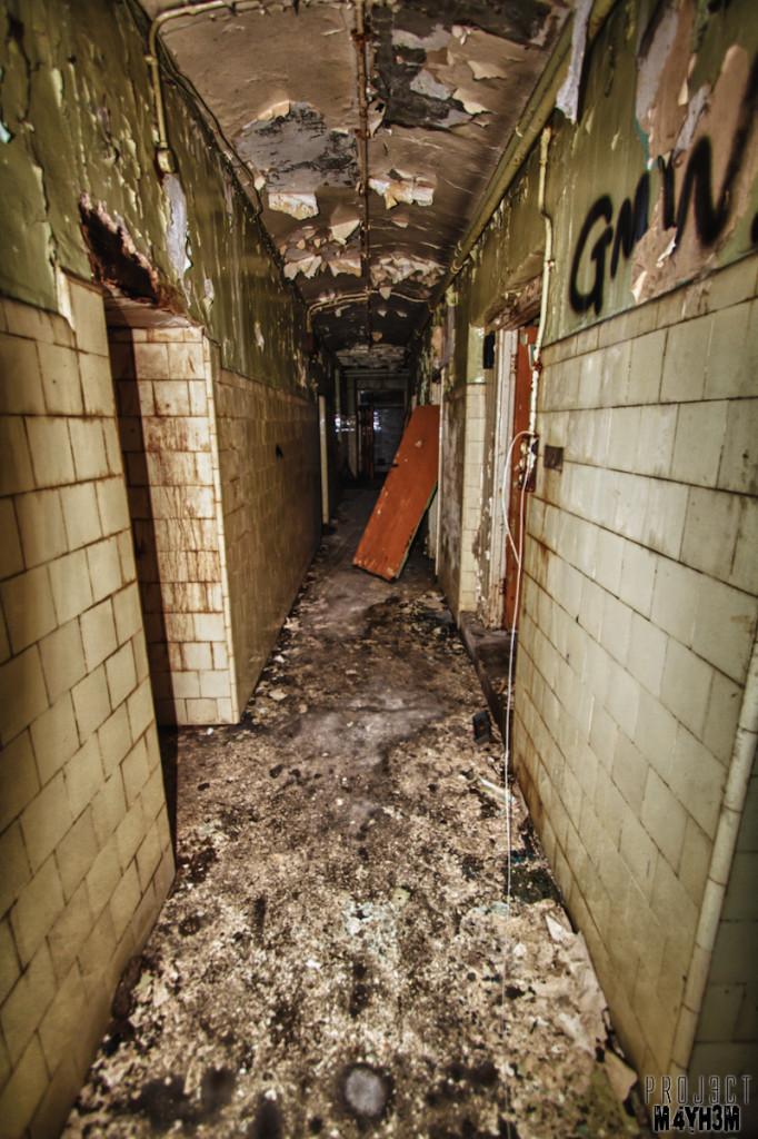 Basement Corridors - Bramham House