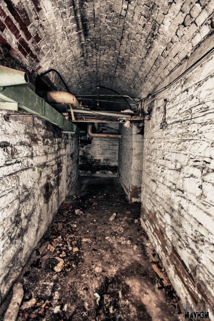 Bomb Shelter Basement - Chapel Allerton Hospital