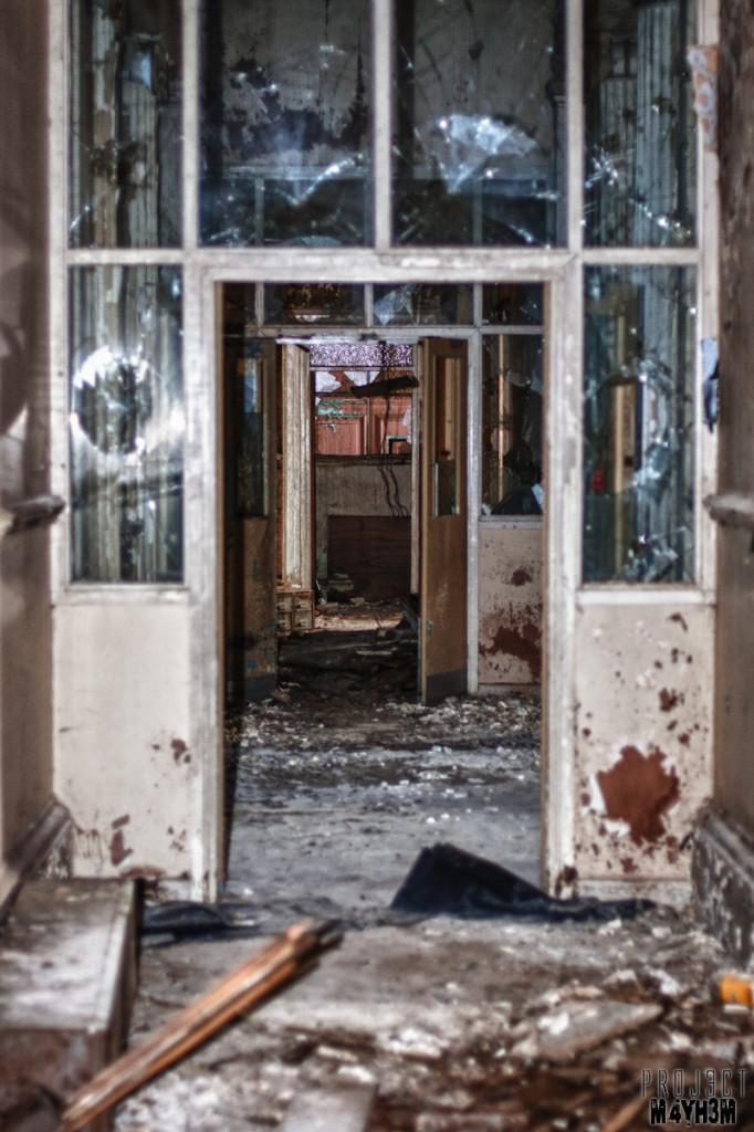 Corridor - Chapel Allerton Hospital