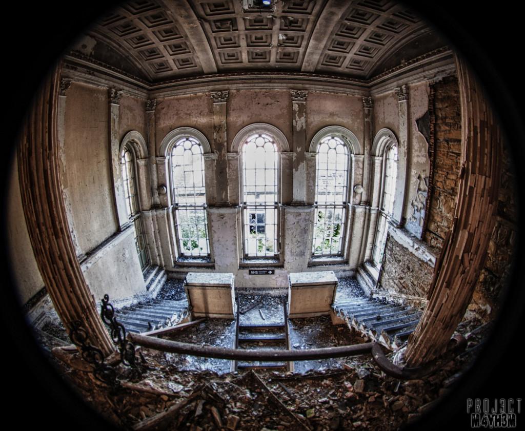 Stairway - Chapel Allerton Hospital