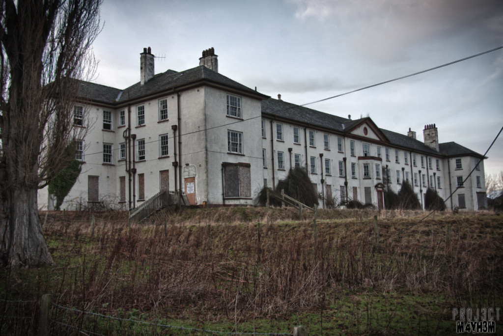 Denbigh Lunatic Asylum - aka North Wales Hospital - Nurses Block
