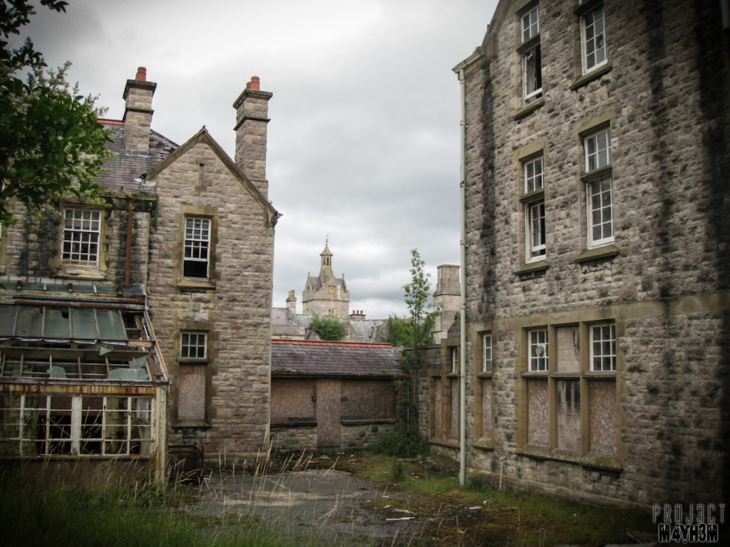 Denbigh Lunatic Asylum aka North Wales Hospital