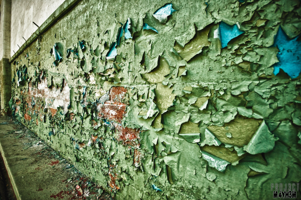 Eastmoor Approved School - Peeling Paint
