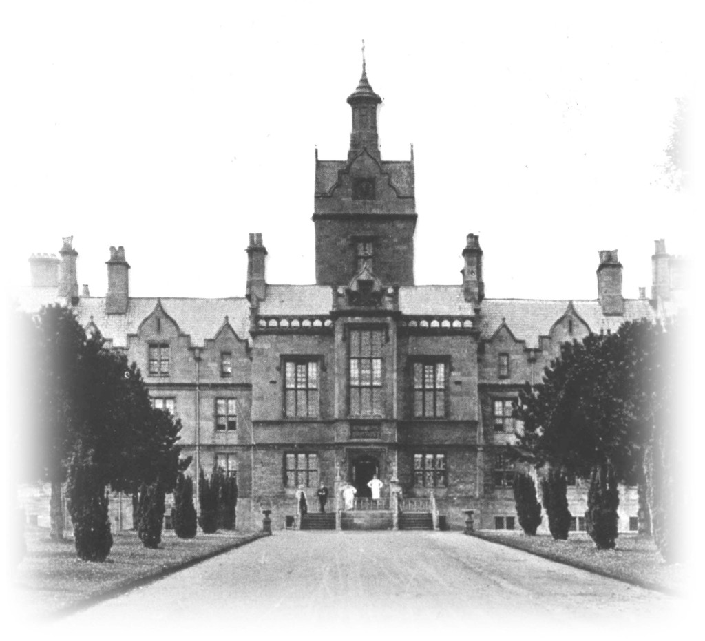 Denbigh Asylum aka North Wales Hospital Old Photograph