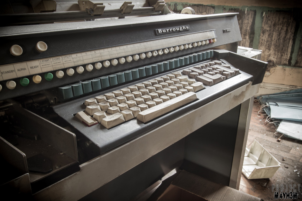 George Barnsley and Sons - Burroughs L 5000 Typing Machine