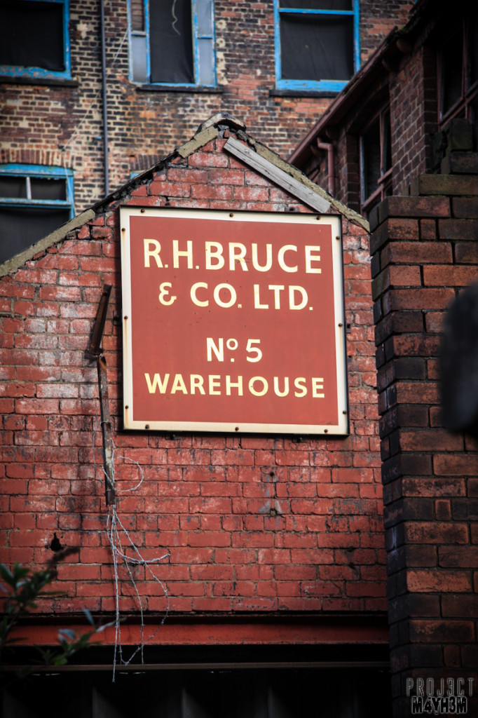 Hunslet Mills - R H Bruce Warehouse No5