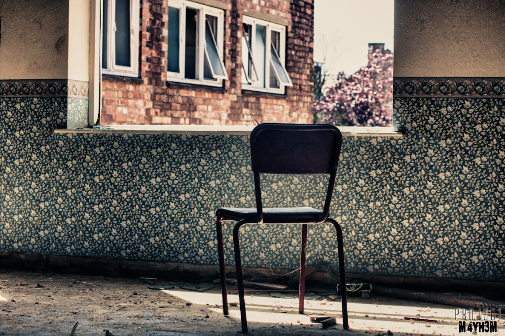 Kingsway Hospital aka Derby Borough Asylum - Lonely Chair