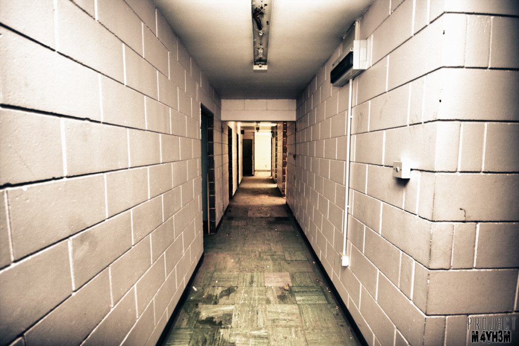 Kingsway Hospital aka Derby Borough Asylum - Corridor