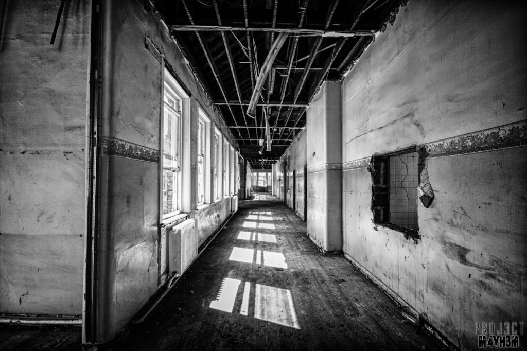 Kingsway Hospital aka Derby Borough Asylum - Corrifdor