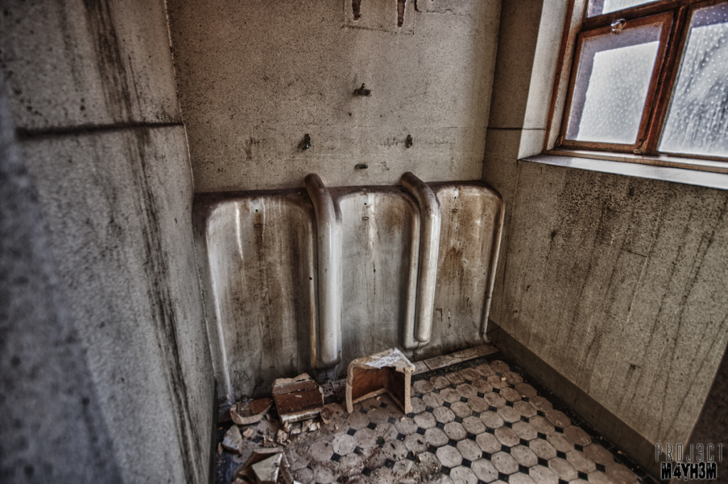 Kingsway Hospital aka Derby Borough Asylum - Urinals