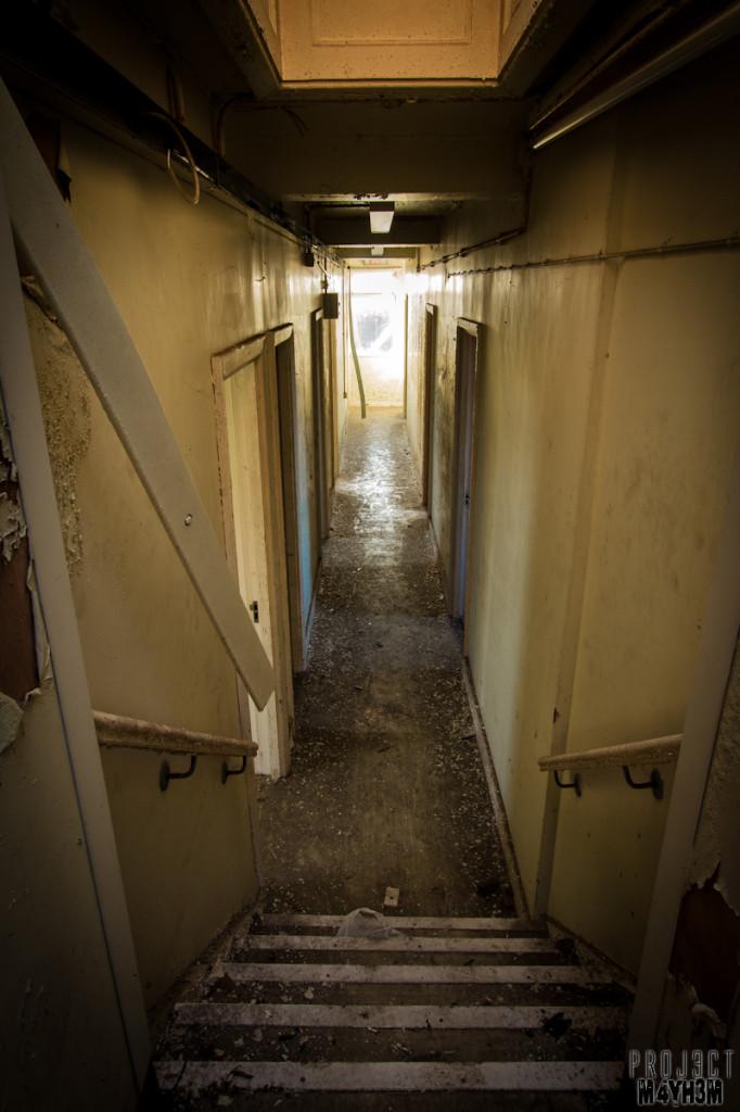 Mansfield General Hospital- Narrow Corridor