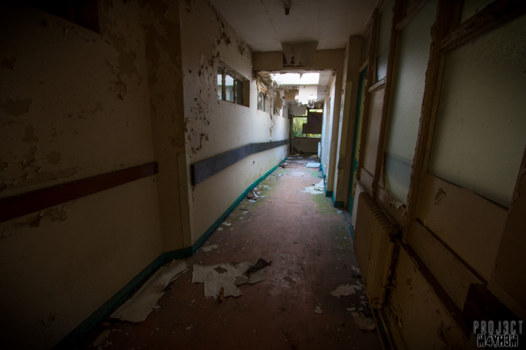 Mansfield General Hospital - Corridors