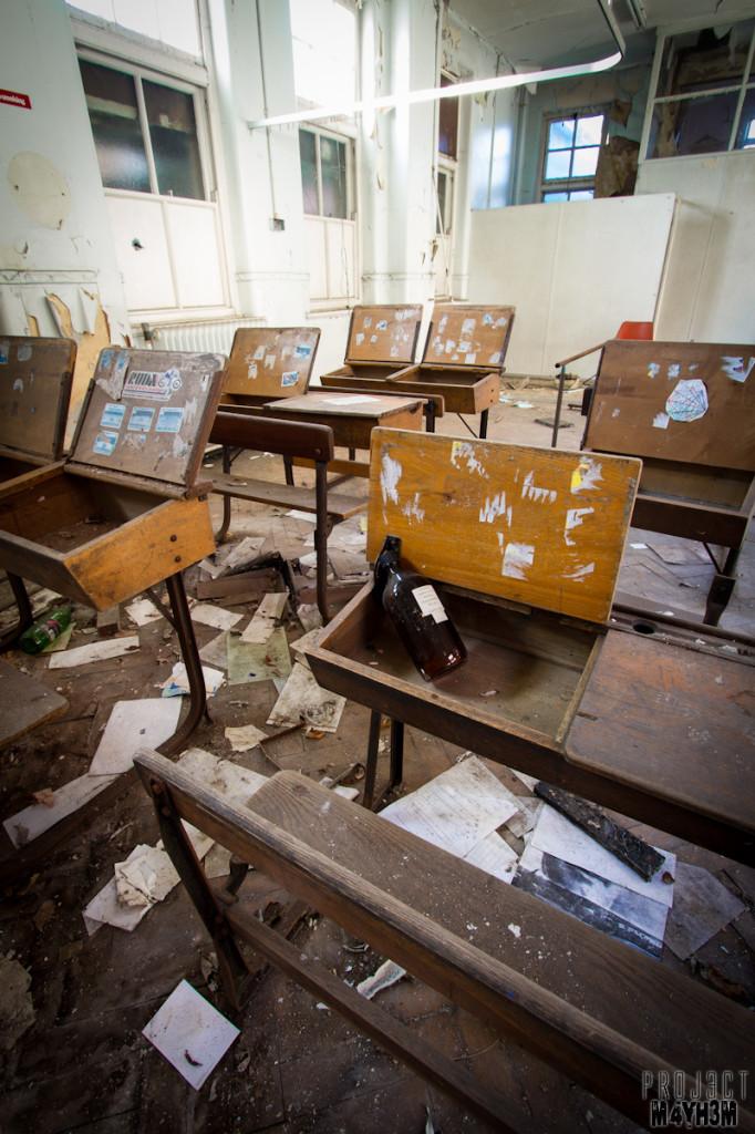 Mansfield General Hospital - Classroom