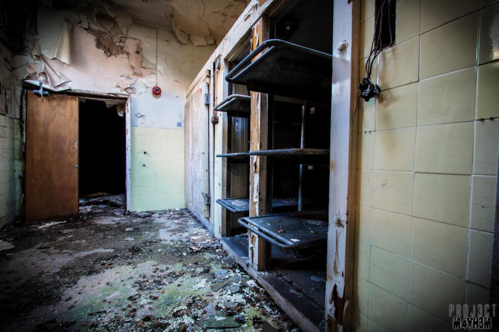 Mansfield General Hospital - Morgue