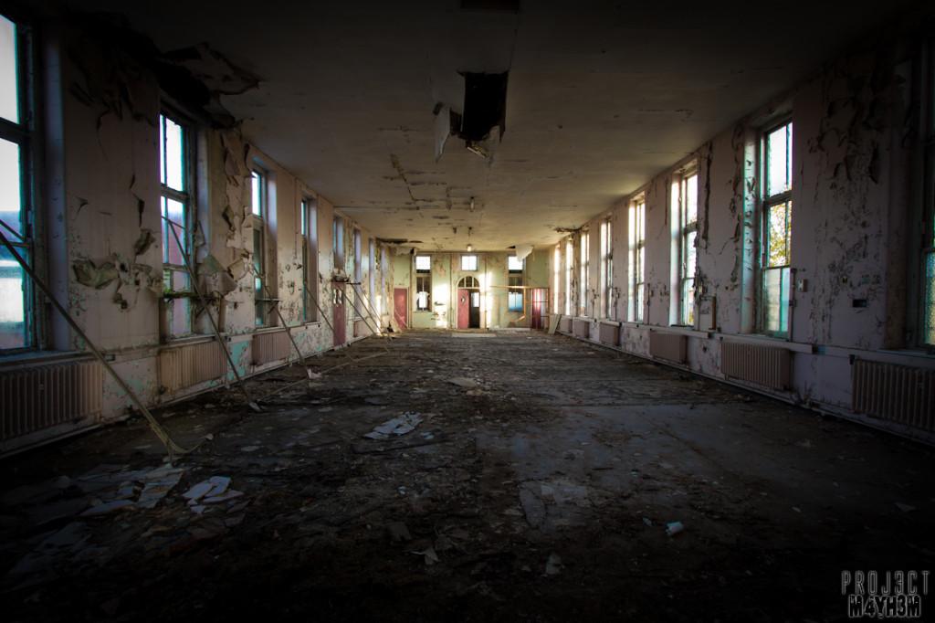Mansfield General Hospital - Dorms / ward