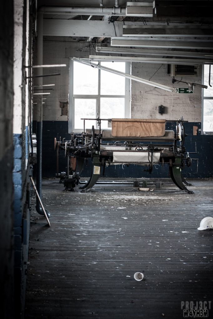 Holdsworths Mill Mirfield - Printing Machinery
