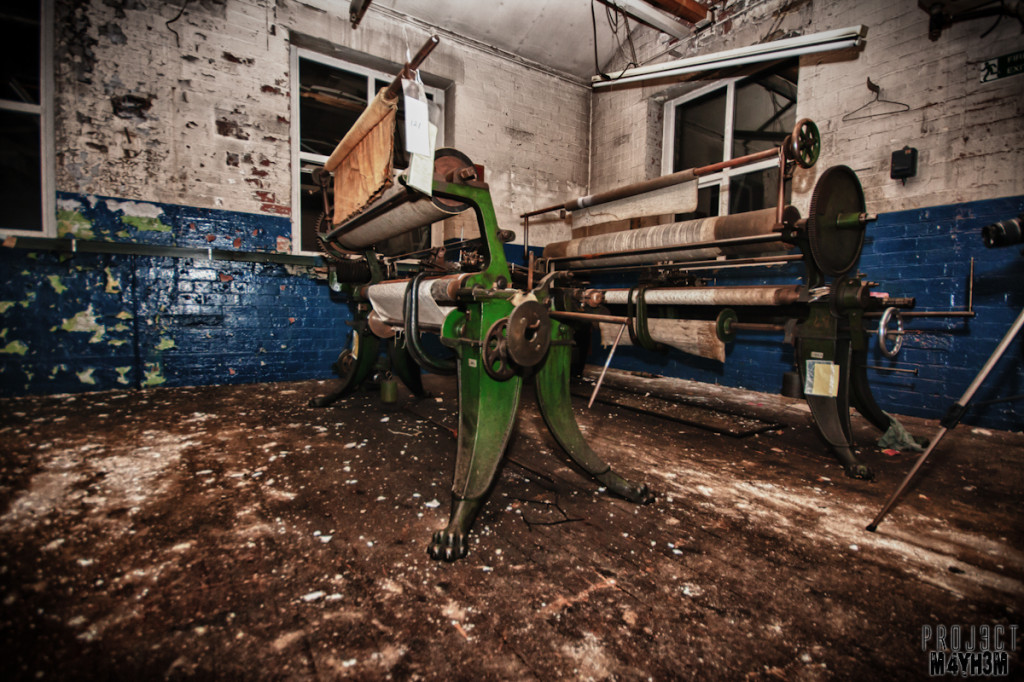 Holdsworths Mill Mirfield - Machinery