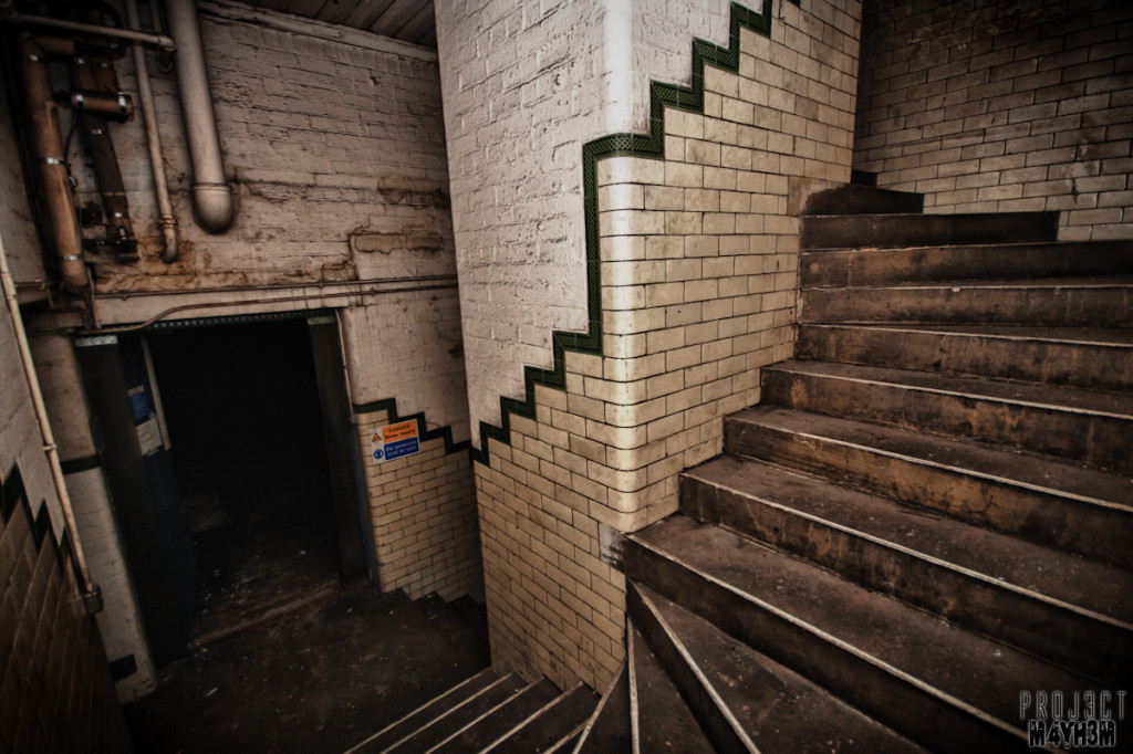 Holdsworths Mill Mirfield - Stairs