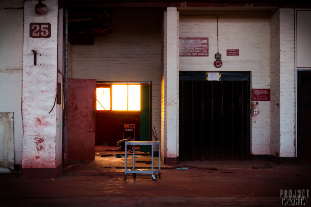 Pilkington Glass Factory - Loved the light!