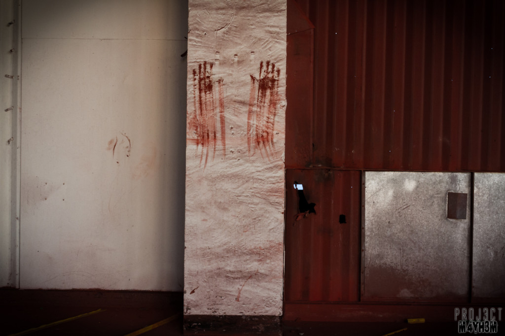 Pilkington Glass Factory - Hand Prints