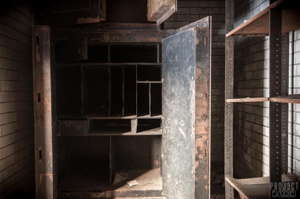 Dewsbury Pioneer House - Bank Vault