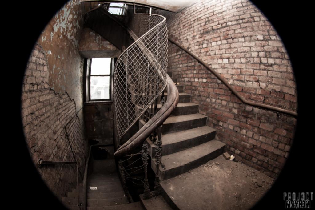 Dewsbury Pioneer House - Stairwell