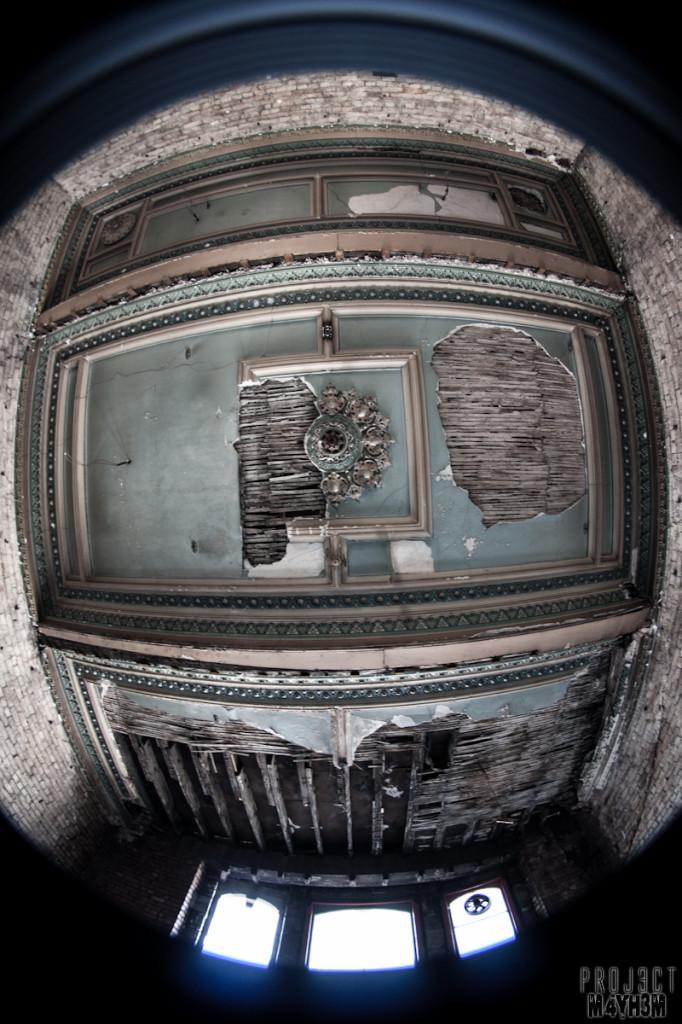 Dewsbury Pioneer House - Ceiling