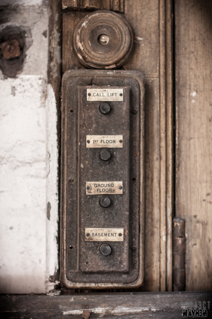 Dewsbury Pioneer House - Lift Buttons