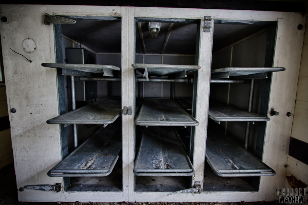 Severalls Lunatic Asylum - Morgue