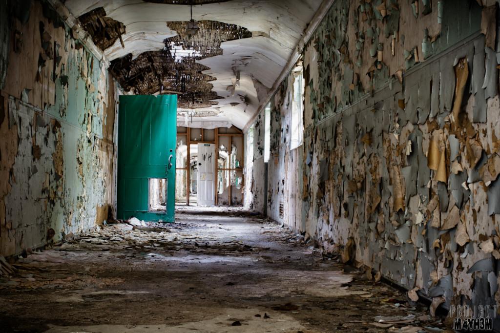 Severalls Lunatic Asylum - Corridors