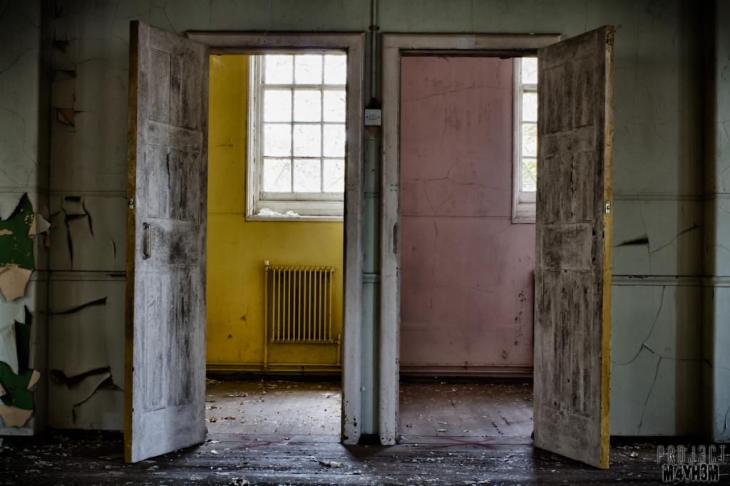 Severalls Lunatic Asylum - Seclusion Rooms