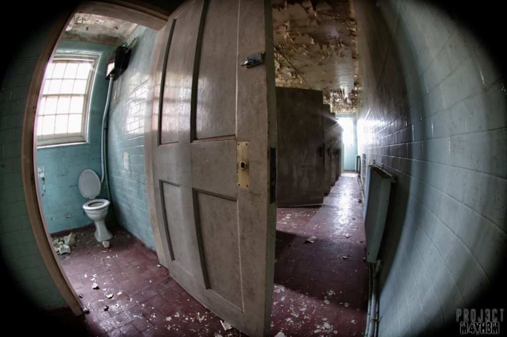 Severalls Lunatic Asylum - Patient Bathroom