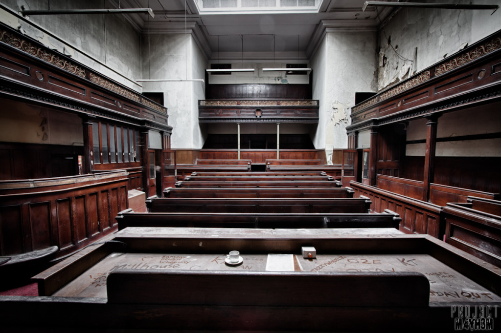 Sheffield Crown Court - Main Courtroom