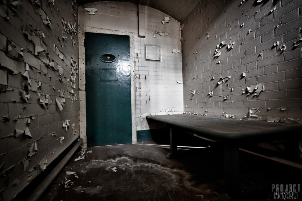 Sheffield Crow Court - Inside the Cells