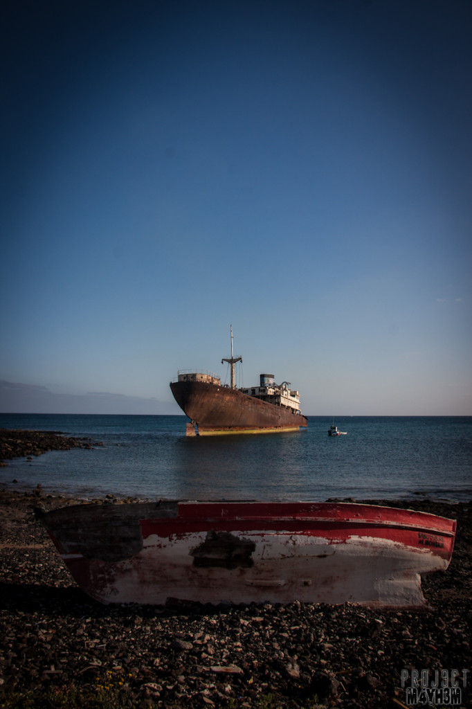 The Telamon aka Temple Hall Shipwreck Lanzarote